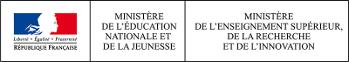Ministère de l'éducation nationale et de la jeunesse, Ministère de l'enseignement supérieur, de la recherche et de l'innovation